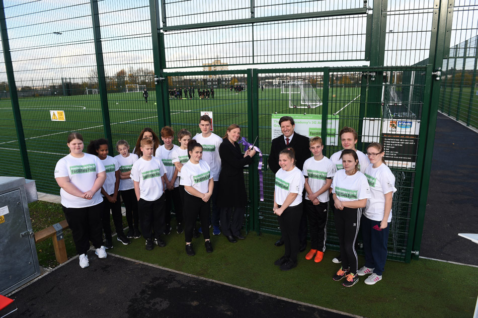 New All-Weather Pitch Launch at The Victory Academy