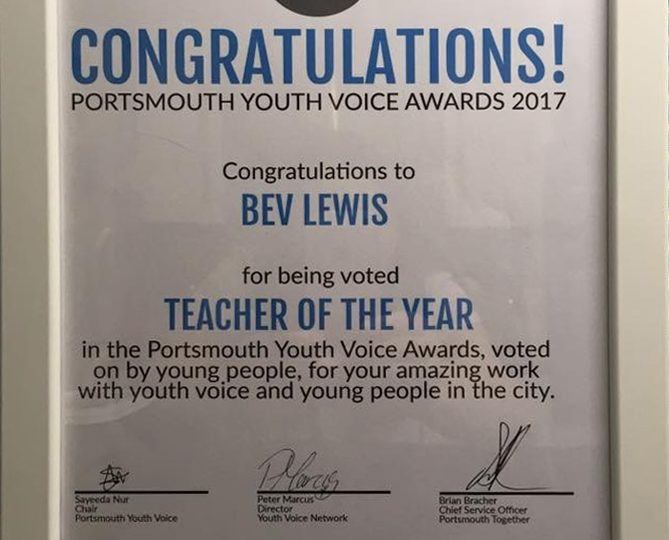 Portsmouth Youth Voice Awards 2017