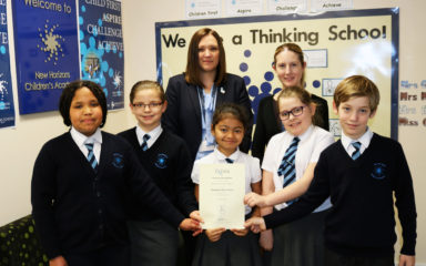 "New Horizons Children's Academy Given Prestigious ""Thinking School"" Award"