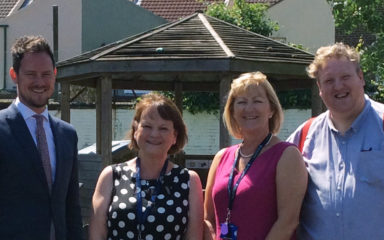Trip Down Memory Lane: Portsmouth MP Welcomed Back at Former School