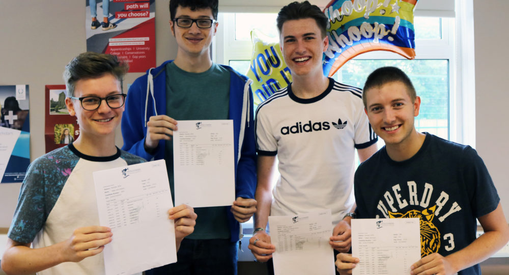 Holcombe Grammar Celebrates Record-Breaking Year of A Level Results