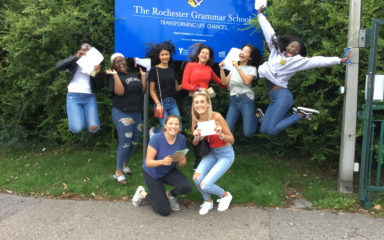 Rochester Grammar School Students Shine on A Level Results Day