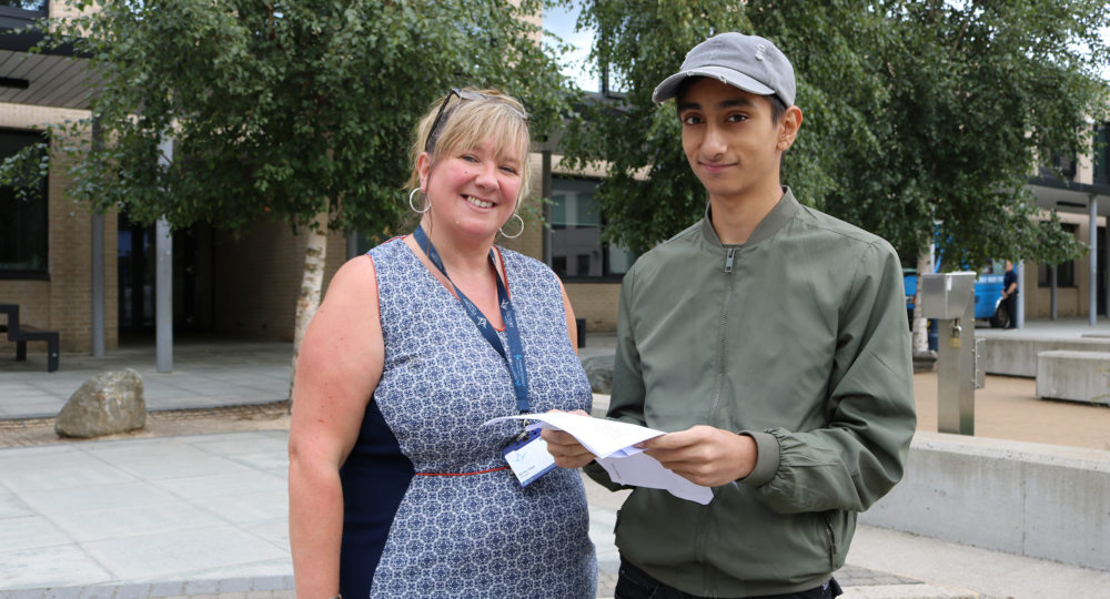 The Victory Academy students delighted at GCSE results