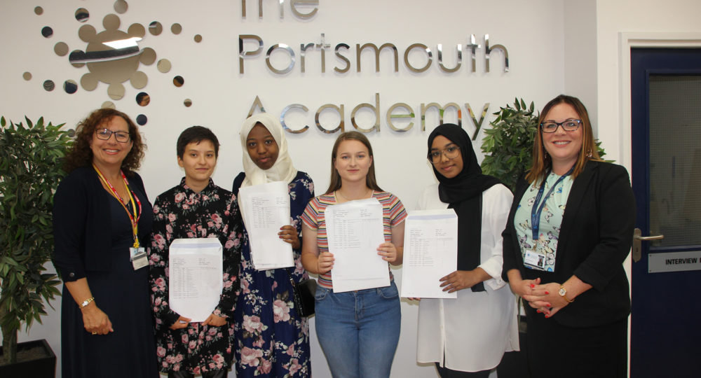 The Portsmouth Academy Students Celebrate Fantastic GCSE Results