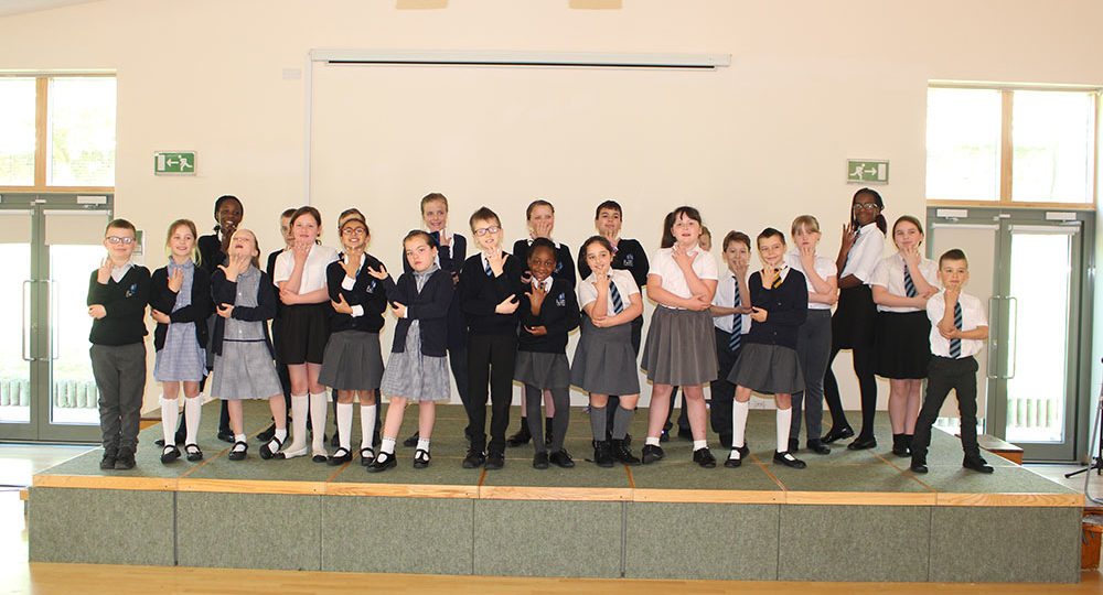 Congratulations to All Faiths Revolutionaries, the winners of the National Junior Signing Choir!