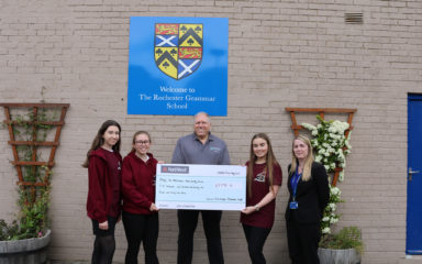 Rochester Grammar School aims high and raises over £5000 for the Kent, Surrey, Sussex Air Ambulance