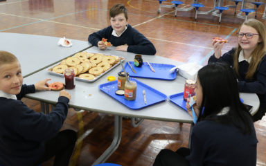 Breakfast Time at Isambard Brunel Junior School