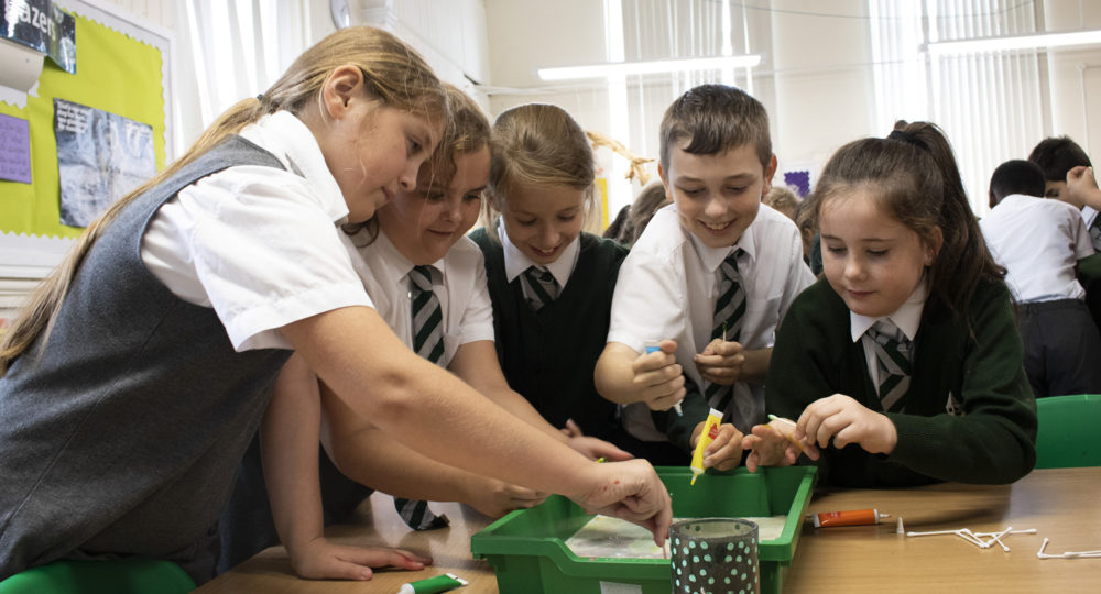 The Gordon Children's Academy Awarded Primary Science Quality Mark