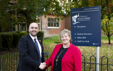 Holcombe Grammar School Celebrates Appointment of Experienced New Principal