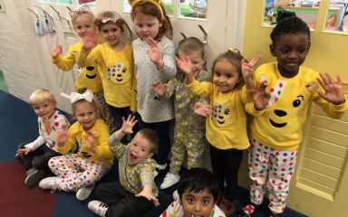 Our Kent and Portsmouth Schools Raised A Large Amount of Money for Children in Need