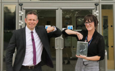 Goodwin Academy's Kirsty Gaythwaite takes silver at Pearson National Teaching Awards