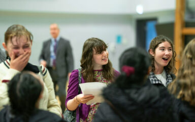 GCSE results day met with smiles all round!