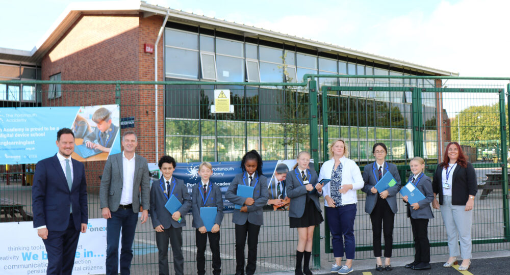 Shadow Schools Minister and MP visit The Portsmouth Academy